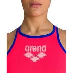 arena One Biglogo Badedragt Damer, fluo red/neon blue